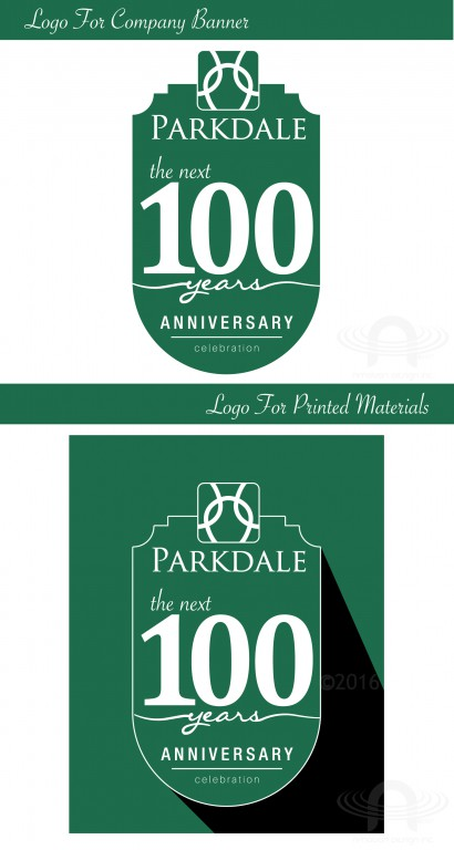 PARKDALE 100 YEARS LOGO