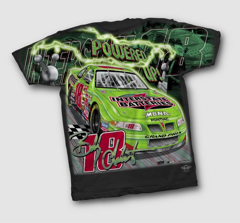 BOBBY LABONTE NASCAR T-SHIRT BACK
