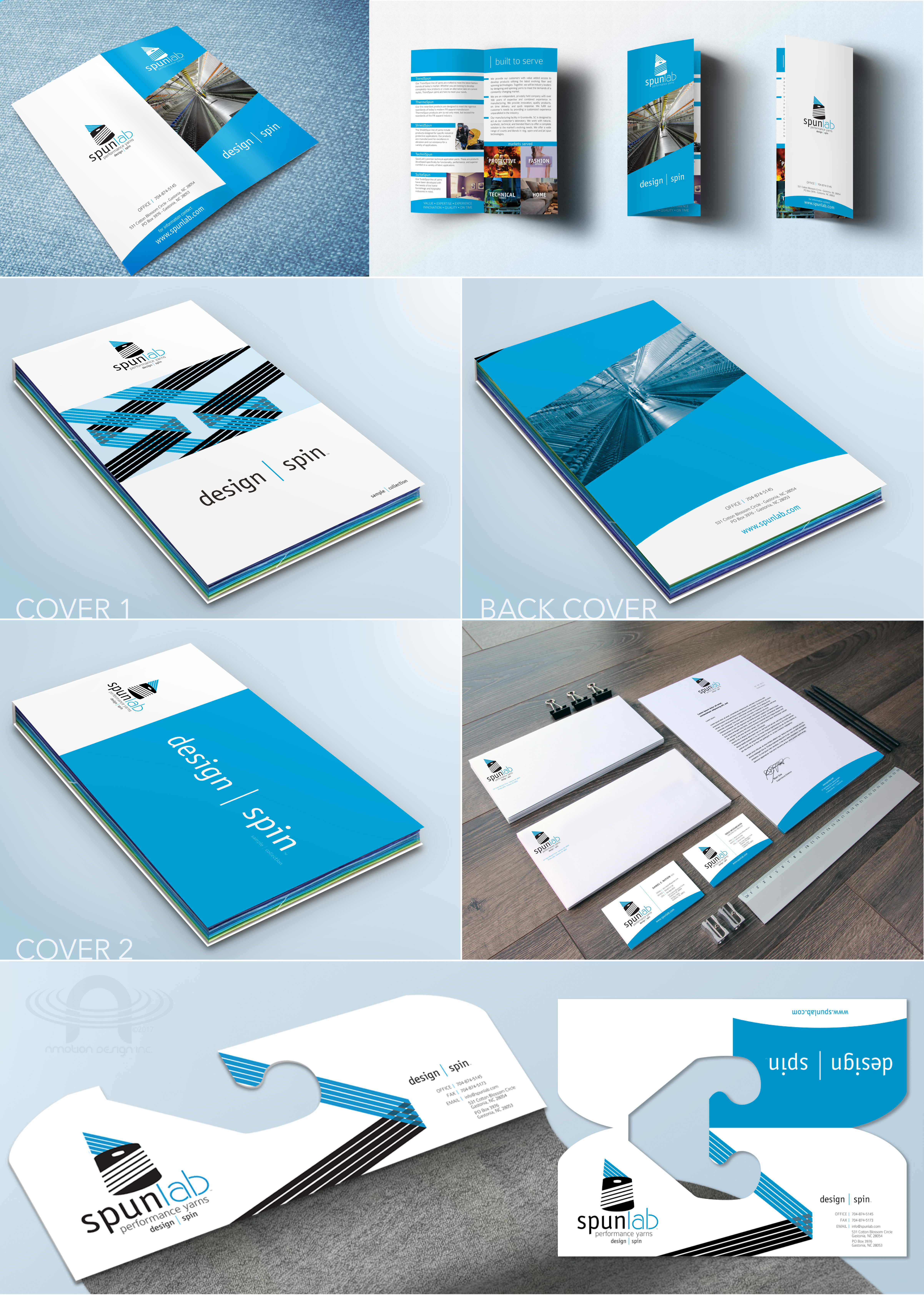 SPUNLAB FULL BRANDING AND SALES PACKAGE